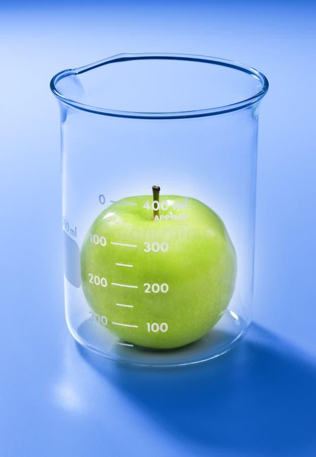 jabłczany karmowej technologii testowanie fotografia royalty free