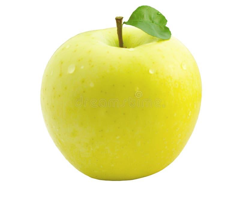 jabłczany kolor żółty zdjęcie stock