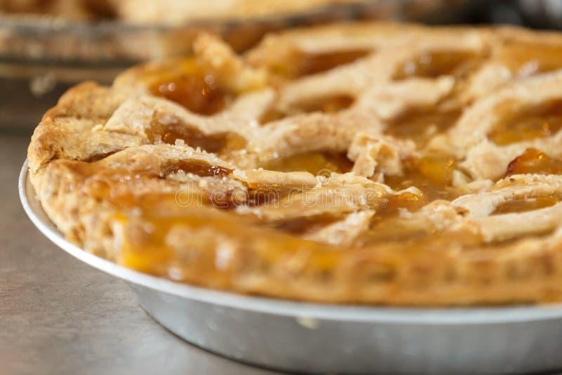 Jabłczany kulebiak obrazy royalty free