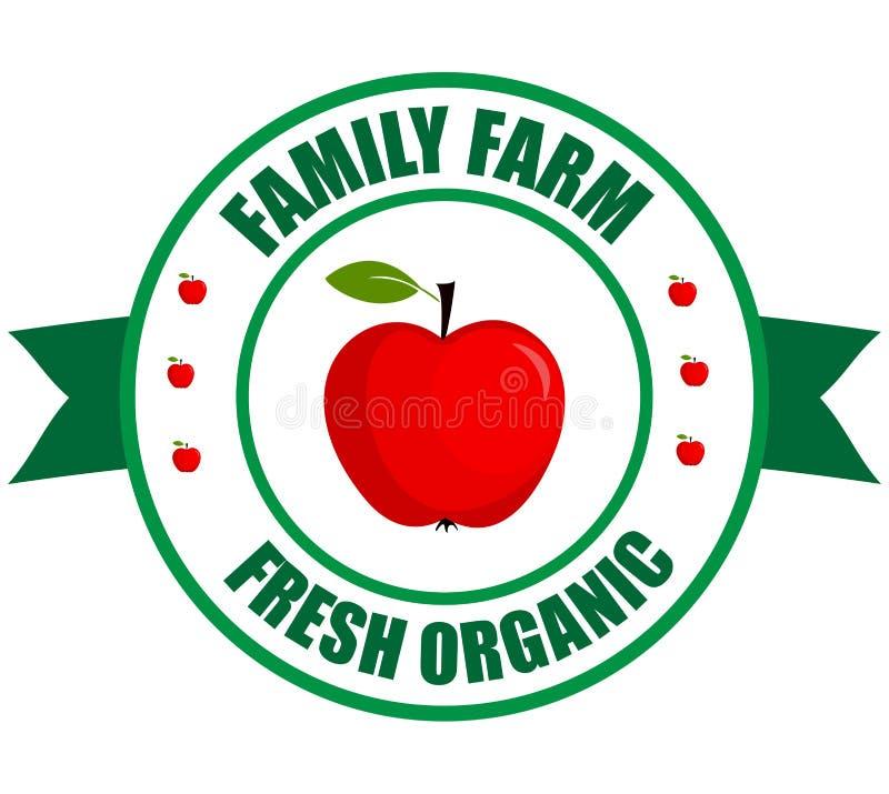 Jabłczany logo ilustracji