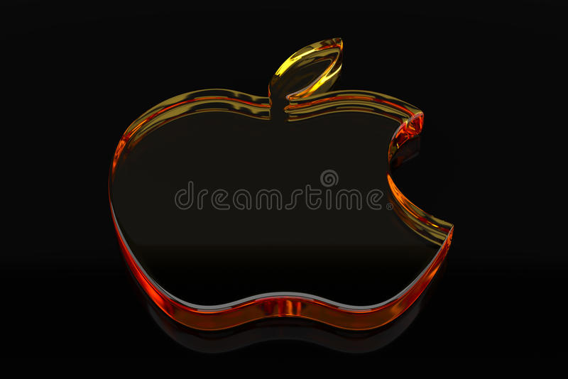 Jabłczany logo royalty ilustracja