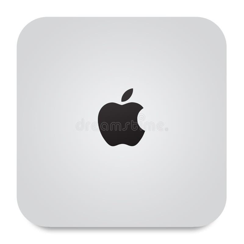 jabłczany mac mini nowy ilustracja wektor