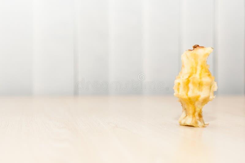 Jabłczany sedno zdjęcia royalty free