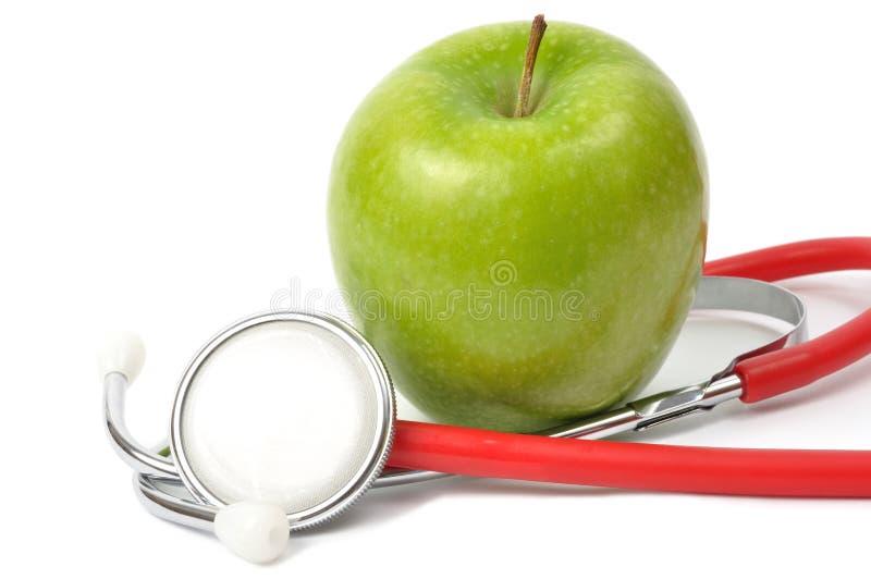 jabłczany stetoskop zdjęcie royalty free