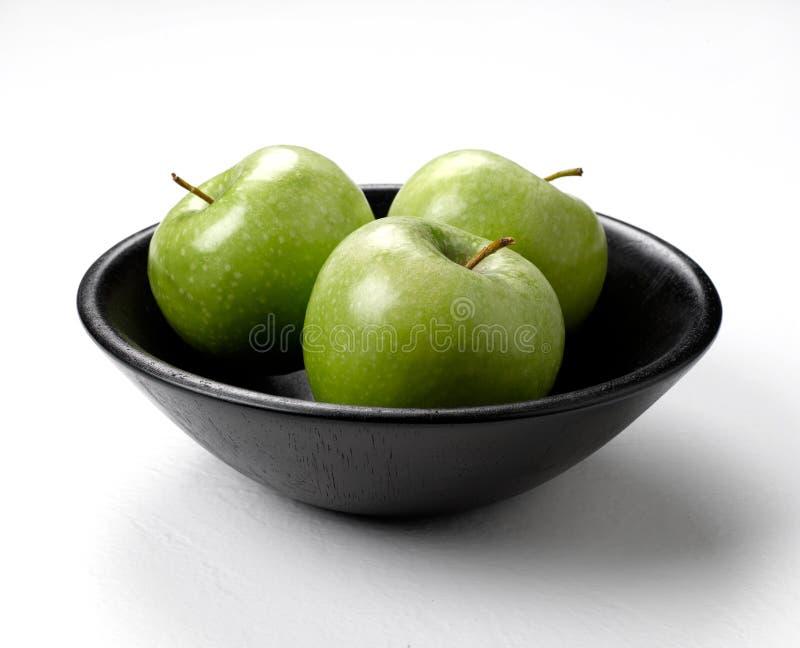 jabłek pucharu zieleń obraz stock
