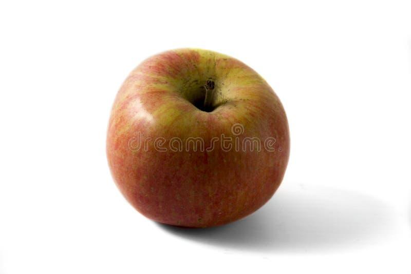 jabłek tła czerwony biel wierzchołek obrazy stock
