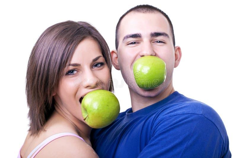 jabłek target496_1_ obraz stock