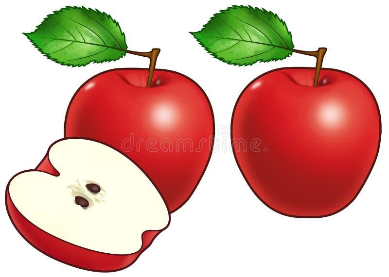 jabłka ilustracji