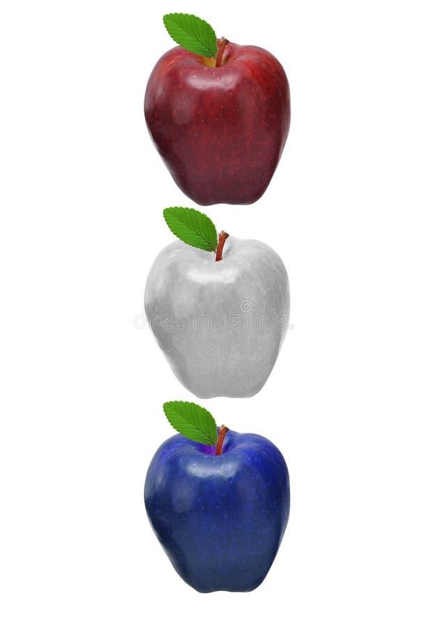 jabłka barwiący obraz stock