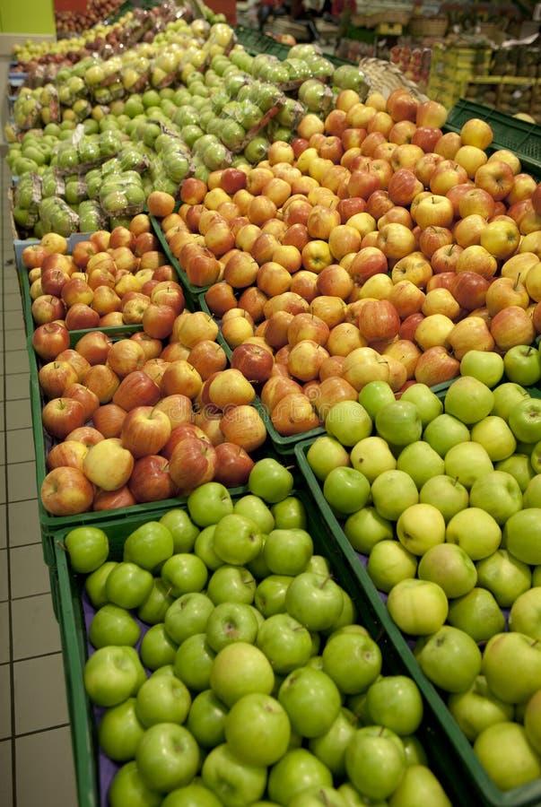 jabłka centrum handlowe zdjęcia stock
