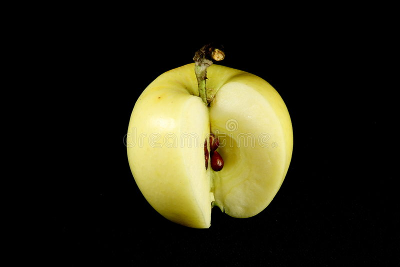 jabłka czerń obrazy royalty free