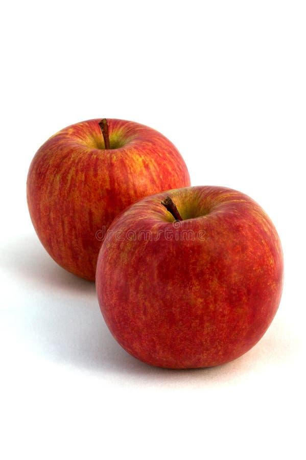 jabłka czerwoni zdjęcia stock