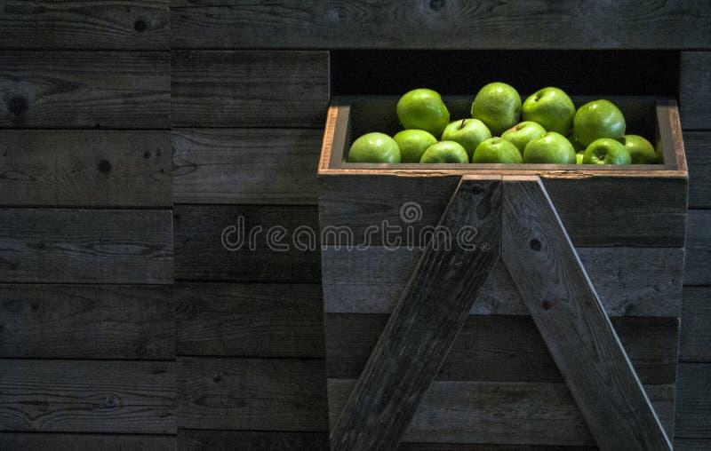 Jabłka w rynku obraz royalty free