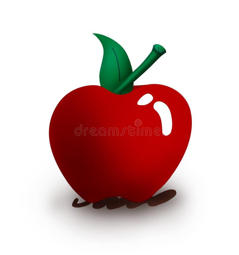 jabłko ilustracja wektor