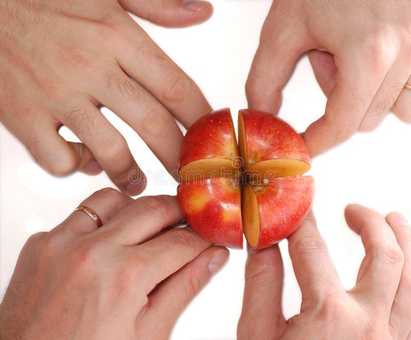 jabłko fotografia stock