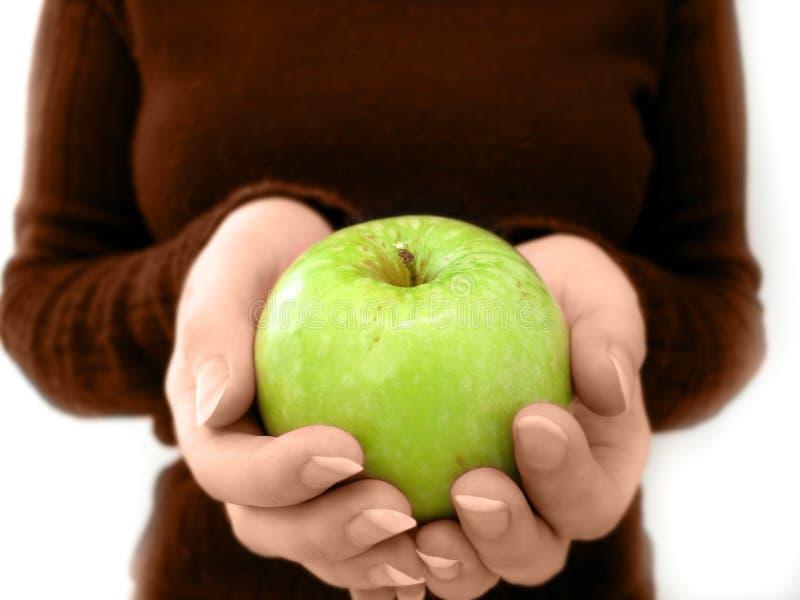 jabłko dziennie zdjęcia stock
