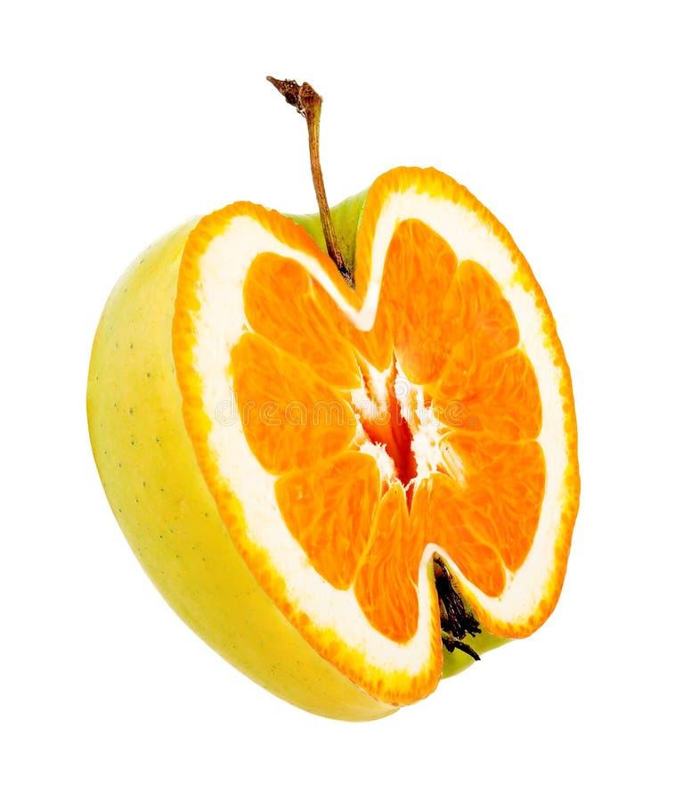 jabłko dziwne zdjęcia royalty free