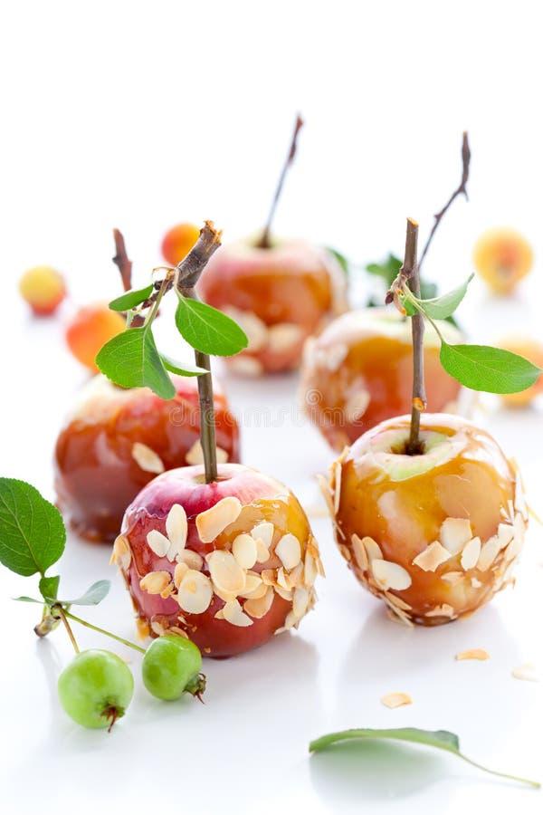 jabłko karmel zdjęcia royalty free