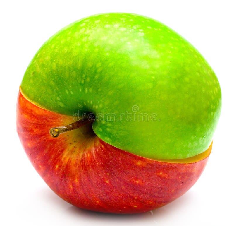 jabłko kreatywnie zdjęcie royalty free