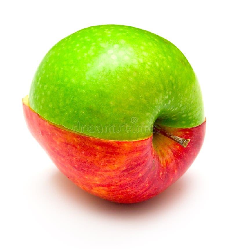 jabłko kreatywnie zdjęcia stock