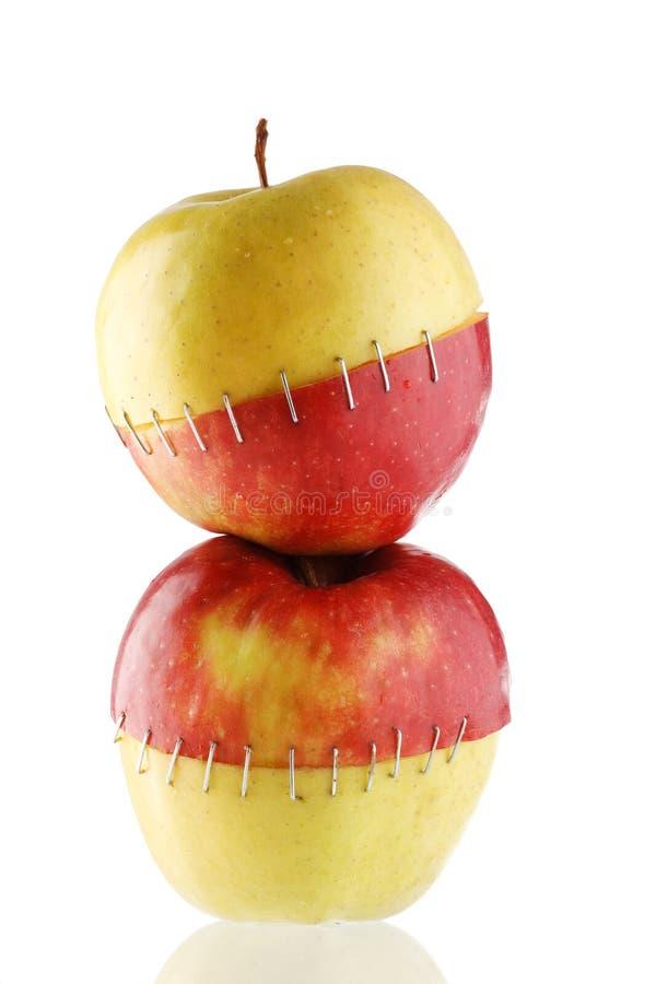 jabłko kreatywnie obrazy royalty free