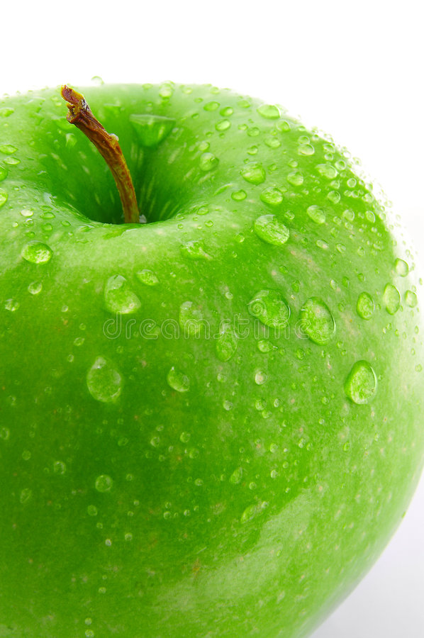 jabłko makro obraz royalty free