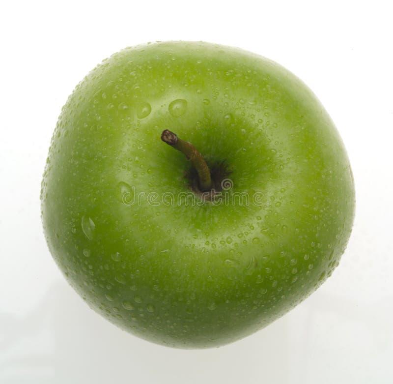 jabłko mokre obraz royalty free