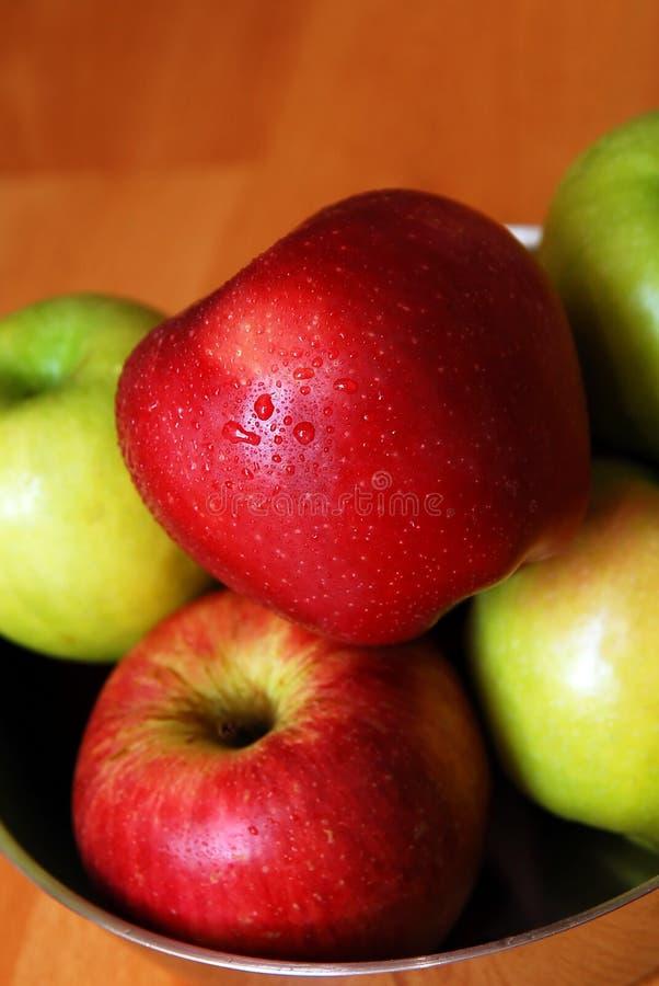 jabłko organicznie obraz stock