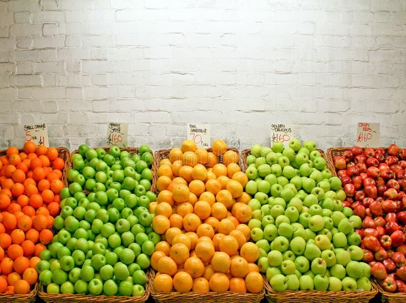 jabłko rynku zdjęcia stock