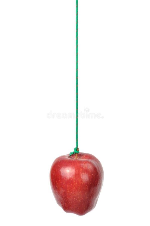 jabłko sznurek fotografia stock