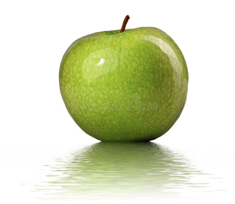 Download Jabłko - zieleń obraz stock. Obraz złożonej z organicznie - 13341581