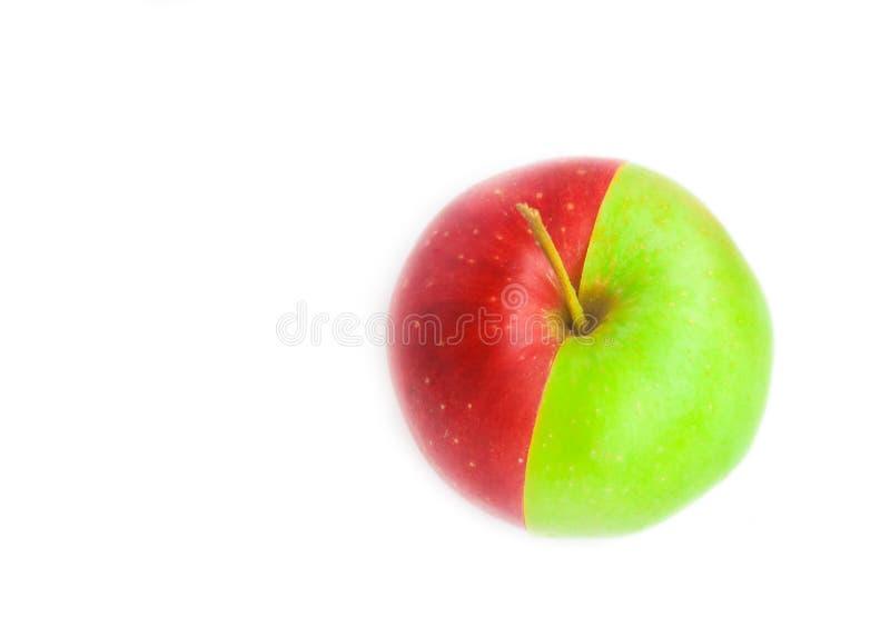 Download Jabłko - zielona czerwień zdjęcie stock. Obraz złożonej z niezrównoważenie - 13329900