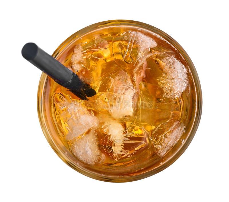 Jab?czany sok z lodem obrazy royalty free