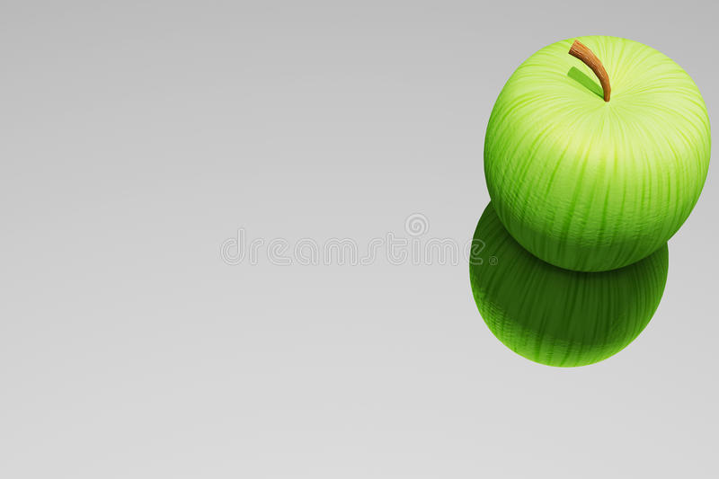 Download Jabłko ilustracji. Ilustracja złożonej z owoc, pomysł - 13331785