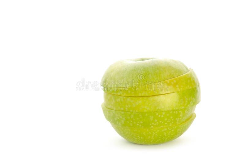 Download Jabłko plasterki zdjęcie stock. Obraz złożonej z odżywczy - 13342174