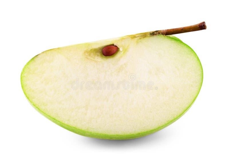 Download Jabłko pojedynczy obraz stock. Obraz złożonej z cięcie - 41952519