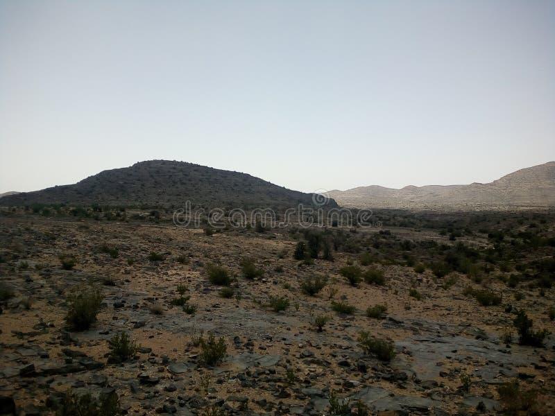 Jabal Akhdar, reklama Dakhiliyah, Oman fotografia stock