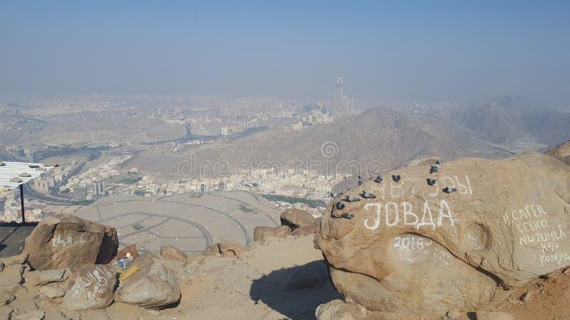 Jabal e Thawr 图库摄影