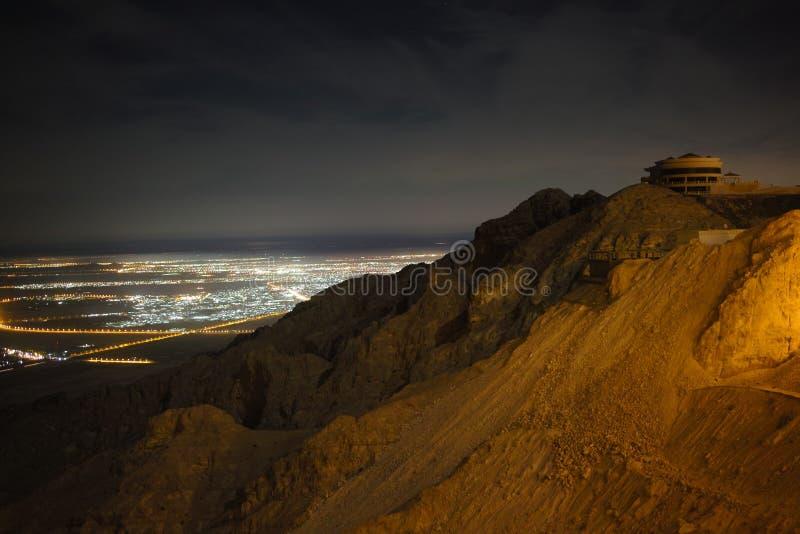Jabal Hafeet immagine stock libera da diritti