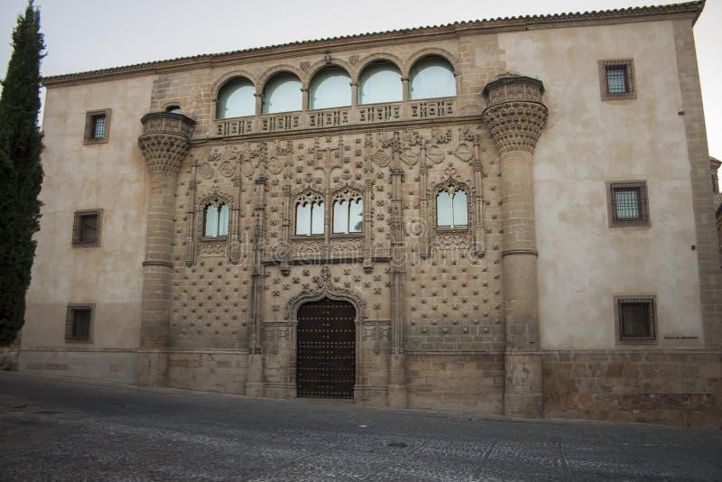 Jabalquinto παλάτι στοκ φωτογραφία με δικαίωμα ελεύθερης χρήσης