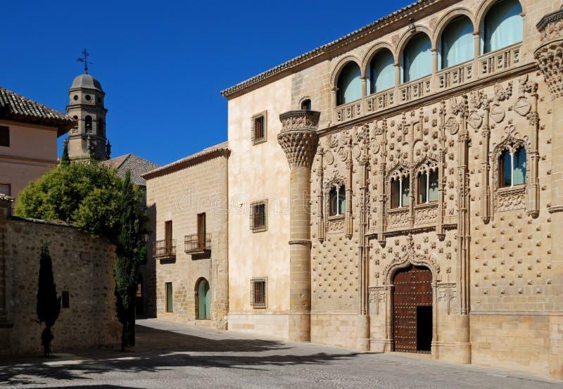 Jabalquinto palace, Baeza, Spain. stock image