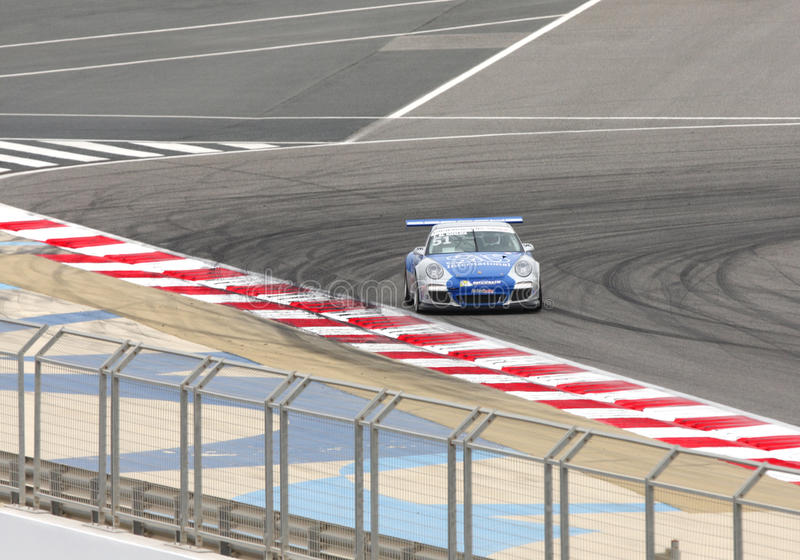 Jaber Al Khalifa of Team TCE racing during Porsche stock photography
