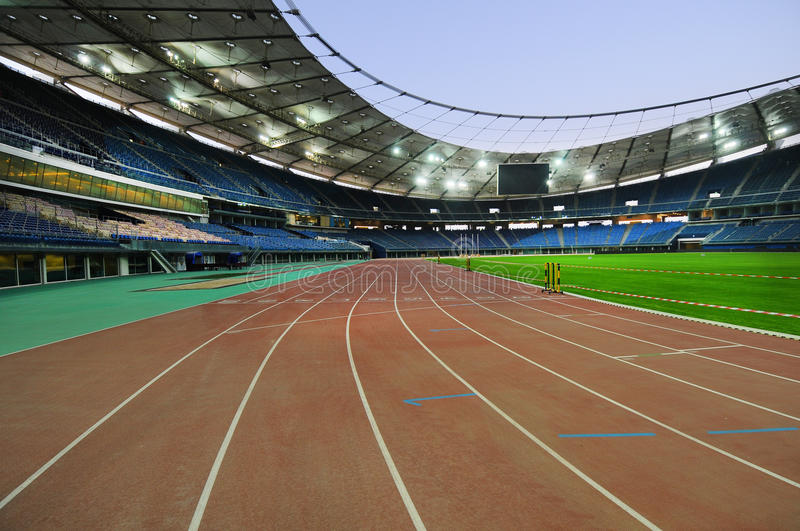 Jaber stadium royalty free stock image