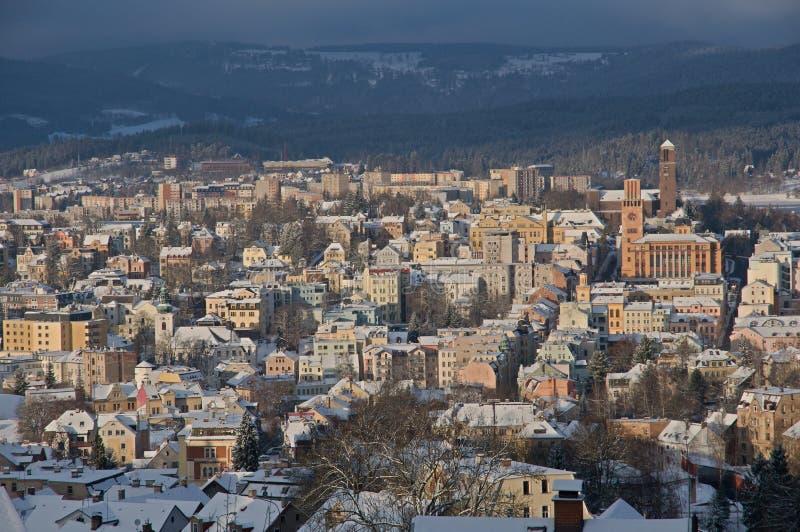 Jablonec nad Nisou, Czech republic stock photo