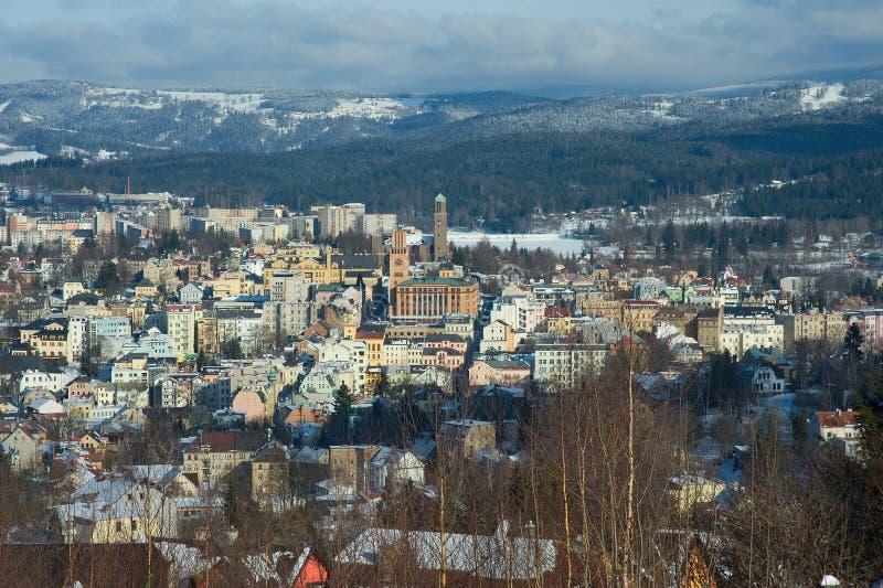 Jablonec NAD Nisou, République Tchèque photos libres de droits