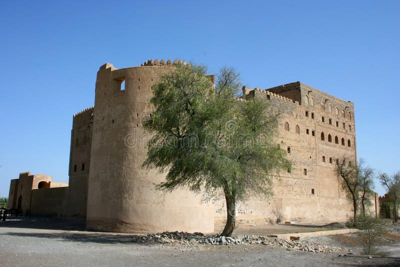 jabrin Ομάν κάστρων στοκ εικόνα