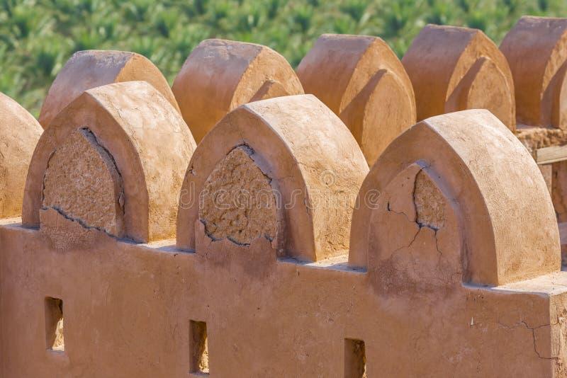 Jabrin Castle, σε Bahla, Ομάν στοκ φωτογραφία με δικαίωμα ελεύθερης χρήσης