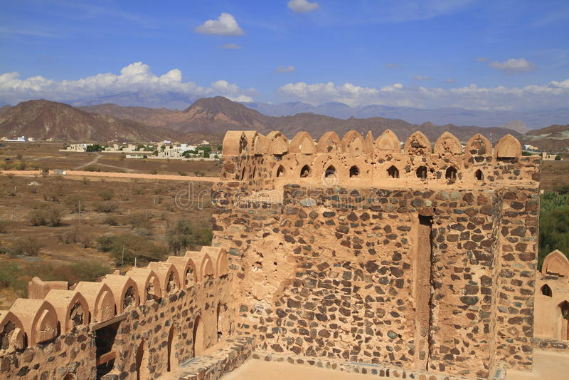 Jabrin Castle στοκ εικόνες με δικαίωμα ελεύθερης χρήσης