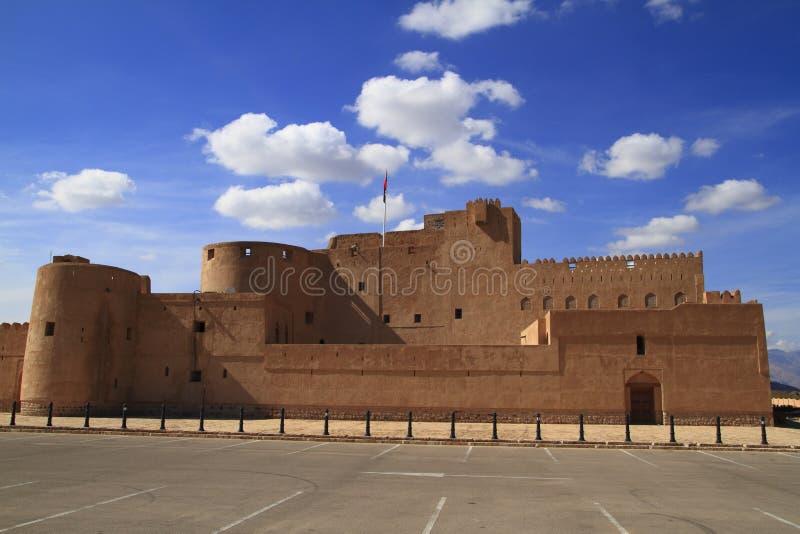 Jabrin Castle στοκ εικόνα