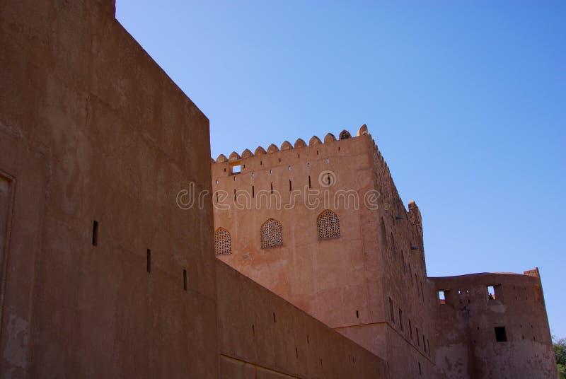 Jabrin Castle στοκ φωτογραφίες
